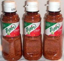 Tajin Classico Chile En Polvo - Chili Powder For Fruits & Vegetables 3 Pc Mexico
