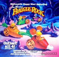 1988 McDonalds Fraggle Rock MIP Complete Set & 2  U3's