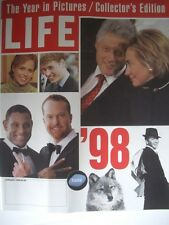 LIFE MAGAZINE 1998 YEAR IN PICTURES JUST GREAT !..KEPT LIKE NEW CONDITION..RARE!