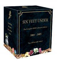 Six Feet Under - Series 1-5 - Complete (DVD, 2006, Box Set)