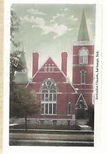 M E Church LaGrange In Mailed 1909 Methodist Episcopal Postcard 693
