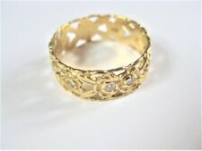 Ring Gold 750 with Diamonds, 3,44 G