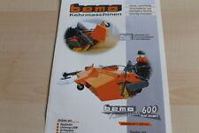 140450) Bema Kehrmaschinen Kehrwalze 600 Prospekt 04/2010