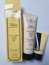 Taylor of POL bomd Street Legno Di Sandalo Lusso Crema Da Barba + Crema Rasatura WHISH