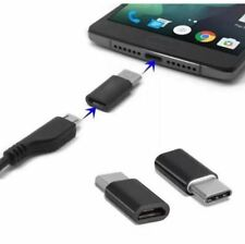 ADAPTATEUR de Micro USB Femelle a USB 3.1 Type C Mâle Data Sync connecteur Noir