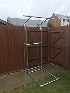 Upgraded !!! Pull Up Station Pull Up bar Calisthenics & Body-weight Equipment,