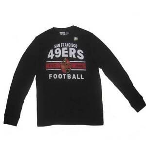 New Men's NFL San Francisco 49ers Waffle Long Sleeve Shirt Large 2X Football