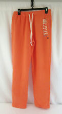 New Hollister Women's Classic Coral Sweatpants Size X-Small