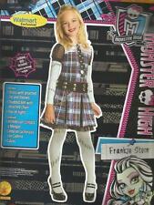 Frankie Stein Girls MONSTER HIGH Rubie's Halloween Dress Up Costume Size L 10-12