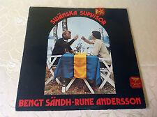 BENGT SÄNDH & RUNE ANDERSSON (LP) SWÄNSKA SUPVISOR [SCHWEDEN PRESSUNG **FOLK]