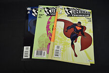 Superman Confidential Comic Books 4 Lot 1 2 3 4 NM Darwyn Cooke