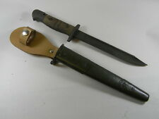 FRENCH FOREIGN LEGION US REMINGTON P-17 CUT-DOWN BAYONET WITH MODIFIED SCABBARD