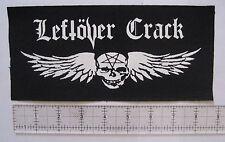 LEFTOVER CRACK DIY Patch - Punk Crust No Cash Morning Glory F-minus Subhumans