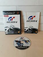 Gran Tourismo 4 PS2 PlayStation 2 - Complete with Manual - Very Good Condition