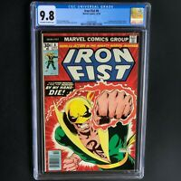 IRON FIST #8 (1976) 💥 CGC 9.8 - 1 of ONLY 22 💥 1ST APP of CHAKA (Cameo)!