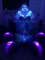Gemmy Airblown Inflatable Ursula Disney Halloween Custom Yard Decoration - Video