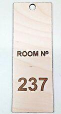 THE SHINING Room 237 The Overlook Hotel Key Fob Homemade wooden hanger sign door
