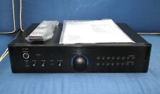 ROTEL RC-1580 STEREO CONTROL PREAMPLIFIER IN BLACK REMOTE MM/MC PHONO PREAMP
