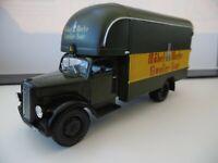 IXO Truck 1949 OPEL BLITZ FURNITURE REMOVALS VAN MODEL SALE 1:43 ref gj