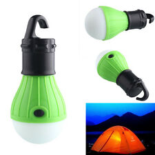 3 LED Outdoor Hanging Camping Tent Light Bulb Fishing Lantern Lamp White Light