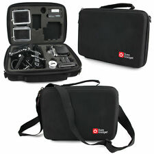 Hard Custom Case For New GoPro 4, Go Pro HERO, 3+, 3, 2, 1, HD W/ Car Charger