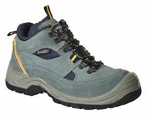 Great Value Steelite Suede Leather Hiker Safety Work Boot Sizes 5 to 13