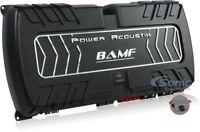 POWER ACOUSTIK BAMF1-8000D MONOBLOCK 8000W RMS CLASS D AMPLIFIER MONO CAR AMP