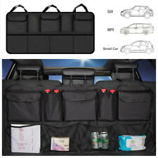 1pcs Seat Back Oxford High Capacity Portable Organizer Universal Fit For Car