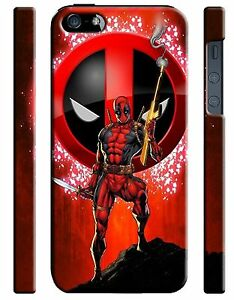 Iphone 4s 5 6 6S 7 8 X XS Max XR 11 12 Pro Plus Hard Case Deadpool Hero Comics 9