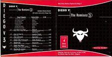 DIEGO V cd album - The Remixes 3