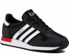 ADIDAS USA 84 TRAINERS BLACK WHITE RED TRAINER SIZE 9 EUR 43 1/3 RRP £65.00