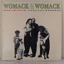 "Womack & Womack – MPB (Missin' Persons Bureau) (Vinyl, 12"", MAXI 33 Tours)"
