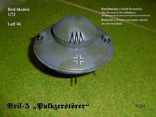 "Flugscheibe   Vril-5 ""Pulkzerstörer""   1/72 Bird Models Resinbausatz / resin kit"