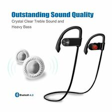 Bluetooth Headphone, Headset Wireless Sport Over-Ear Secure Comfort Fit, Strong