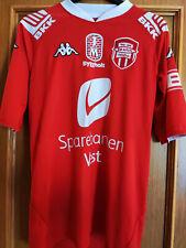 Maglia calcio SK Brann 2008 Kappa S jersey home vintage Norway Eliteserien 100Y