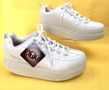 Skechers Women's Shape-Ups The Work SN76428 White Sz 9.5 Slip Resistant New