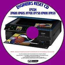 EPSON XP600 XP605 XP700 XP750 XP800 XP850 WASTE INK PAD FIX ENGINEERS RESET PCCD