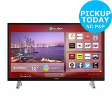 Hitachi 32 Inch Smart 720p HD Ready WiFi Enabled Freeview Play LED TV - Black