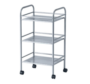 "DRAGGAN Cart, silver color 16x12 5/8x29 3/8 "" NEW FREE SHIPPING"