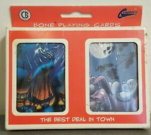 Bone Cartoon Books Graphitti Designs 1996 Jeff Smith Set Of 2 Playing Card Decks