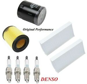 Tune Up Kit Air Cabin Oil Filters Spark Plugs For HONDA CR-V L4 2.4L 2002-2006