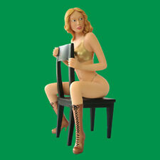 Sexy Lady SALLY Statue handpainted pin-up figure RARE Erotic pinup figurine NEW