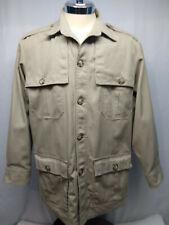 Tilley Endurables Vintage Safari Field Adventure Travel Jacket Mens Large