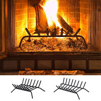 Firewood Log Grate for Indoor Wood Burning Fireplace Steel
