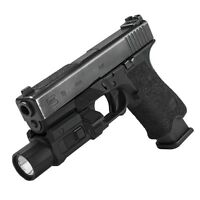 NcStar Tactical Pistol Flashlight with Strobe Picatinny Mount For Glock 17 19 20