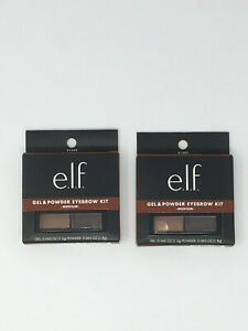 e.l.f - 2 Pack Gel and Powder Eyebrow Kit - Medium Matte