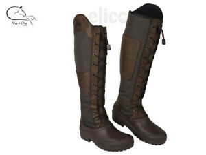 Elico Chalgrove Long Boots Winter Yard Riding Walking Country Casual FREE P&P
