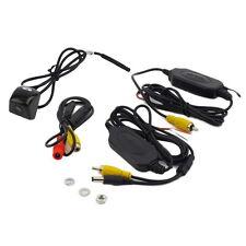 Wireless Car Rear View CCD 170° Night Camera Reverse Backup Parking Camera Black