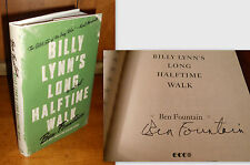 Signed 1st/1st - Billy Lynn's Long Halftime Walk by Ben Fountain (2012)
