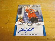 Jacob Parrott 2013 Leaf Power Showcase Autographs Blue #JP1 #'d 48/50 Card